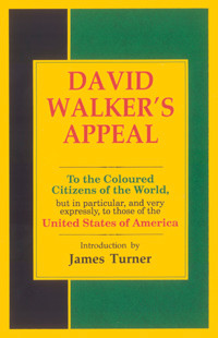 Front cover: David Walker's Appeal