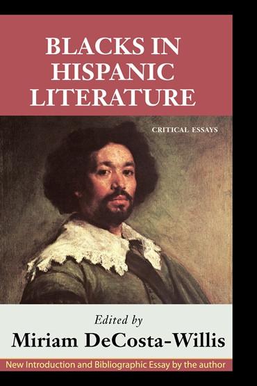 Front cover: Blacks in Hispanic Literature