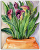 Original Calla Lily Watercolor Painting by Dotty Reiman