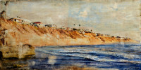 Solana Beach Landscape Series, Original Painting - SOLD