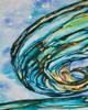 Liquid Glass Panel No. 1 measures 24 inches wide x 30 inches high x 1.5 inches deep.