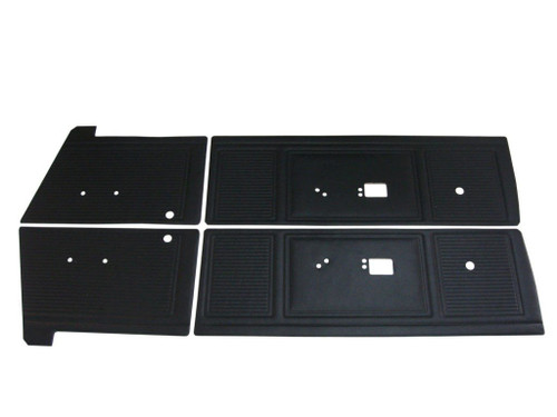 6509 Mopar 1969 Dart GT GTS Front and Rear Door Panel Set