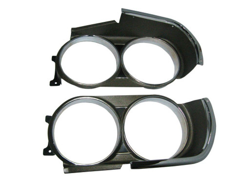 230-71 Mopar 1971 Dodge Challenger Headlight Bezels