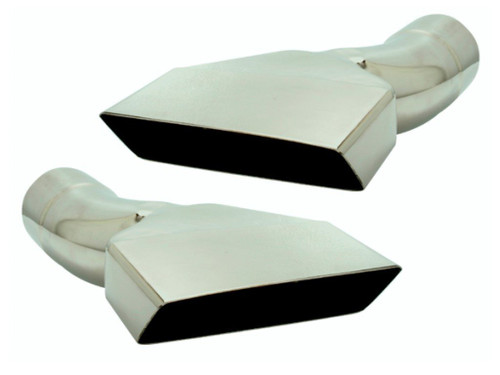 211-S25 Mopar Plymouth E-body 2-1/2 Inches Stainless Exhaust Tips