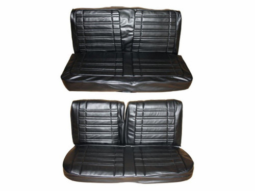 7714-BEN 1970 Coronet Super Bee Front Bench Rear Bench Seat
