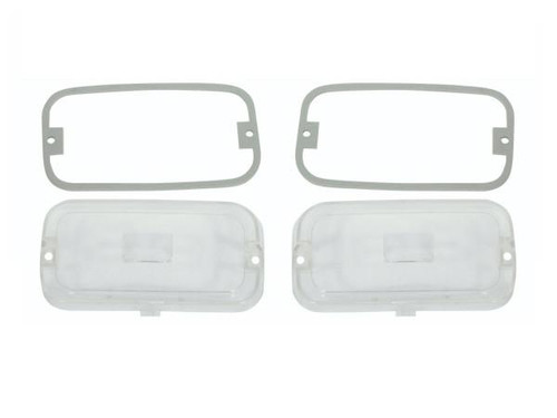 286-L Mopar 1972-74 Plymouth Cuda Parking Light Lenses