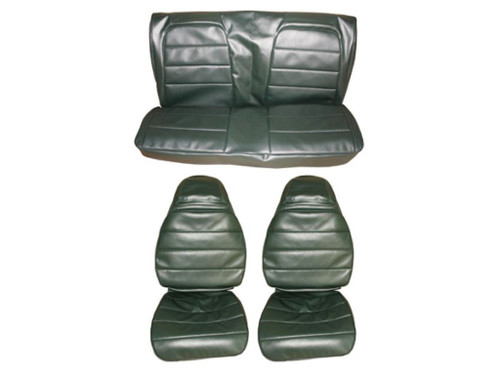 7706-BUK 1972-73 Charger and Roadrunner Front Bucket Seat Rear Bench