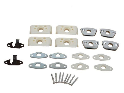 810BEN-KIT Mopar 1968-70 A,B,C-body Bench Seat Headrest Mounting Kit