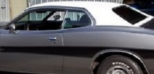 "Mopar Vinyl Tops 1973-1974 Dodge Charger, Plymouth Road Runner Full ""Halo"" Top"