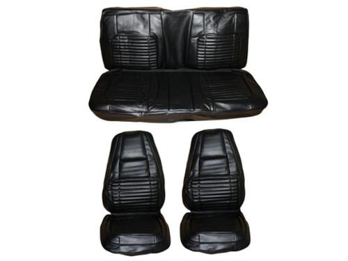 7703-BUK Mopar 1970 Charger 500 R/T Front Bucket Seat Rear Bench