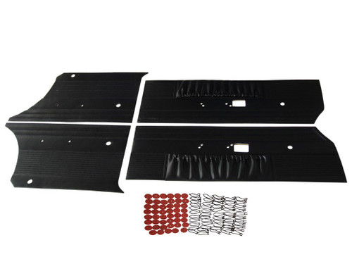 7507 1969 Charger R/T Door Panel Front and Rear Set