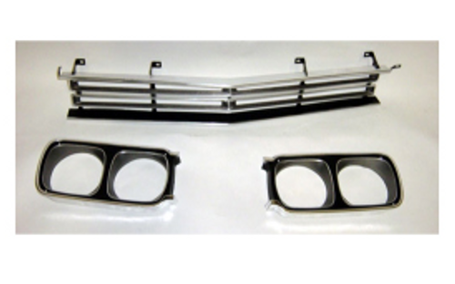 Mopar Front Grille and Headlight Bezels - 1969 Plymouth Road Runner