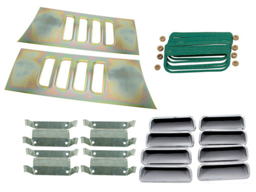 219-KIT Mopar 1971 Plymouth Cuda Fender Gills Kit