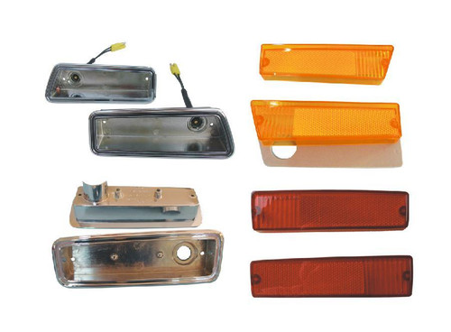 1215-70COBLKIT Mopar 1970 Dodge Coronet Side Marker Kit