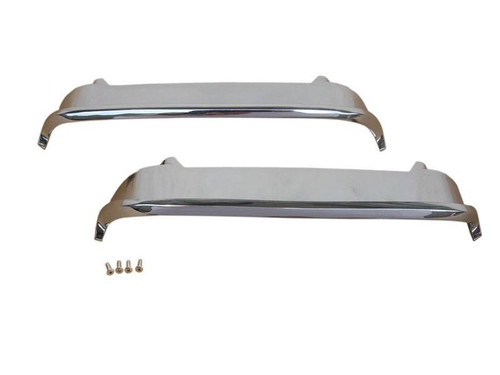 1315-B Mopar 1969-70 Dodge Coronet Twin Scoop Chrome Bezels
