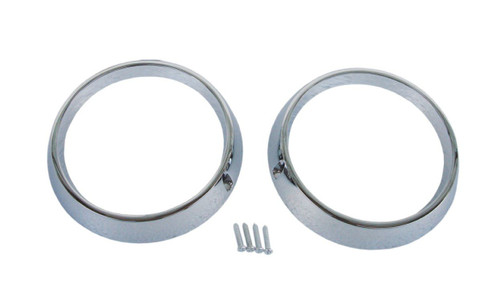 2209-B Mopar 1970-71 Plymouth Cuda Road Lamp Bezels