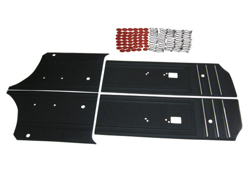 7511 1970 Coronet 440 Super Bee Door Panel Set