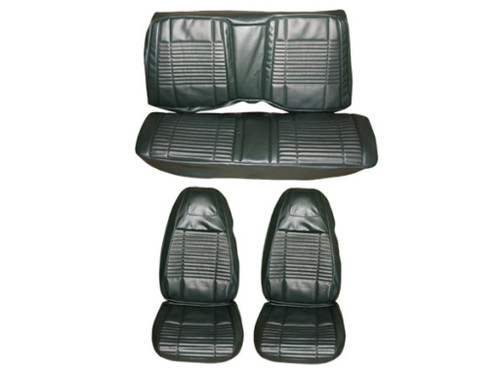 5501-BUK 1970 Challenger Front Bucket Rear Bench Seat Cover