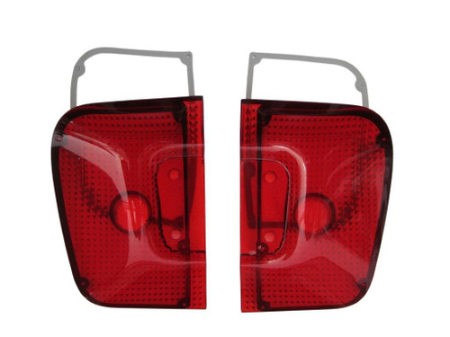 308-67L Mopar 1967 Plymouth Barracuda Taillight Lenses