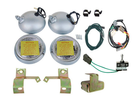 2209-KIT Mopar 1970 Plymouth Cuda Road Lamp Kit