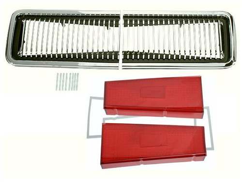 167-RTKIT Mopar 1967 Dodge Coronet R/T Taillight Kit