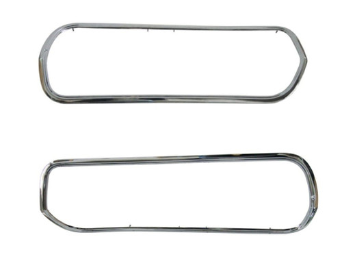 3309-BSET Mopar 1969 Plymouth Barracuda Grille Trims
