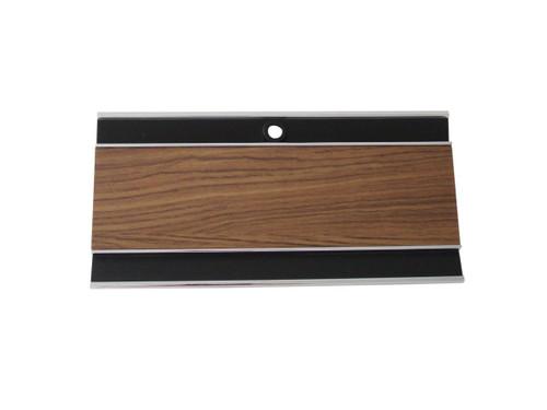 131-70D Mopar 1969-70 B-body Diecast Woodgrain Console Glove Box Door