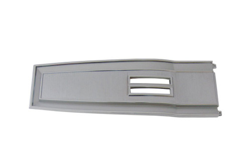 131A-6 Mopar 1966-68 B-body Diecast Chrome Console Top Plate