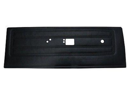 6502HT Mopar 1968 Barracuda Front &  Rear Door Panels Notchback (Black)