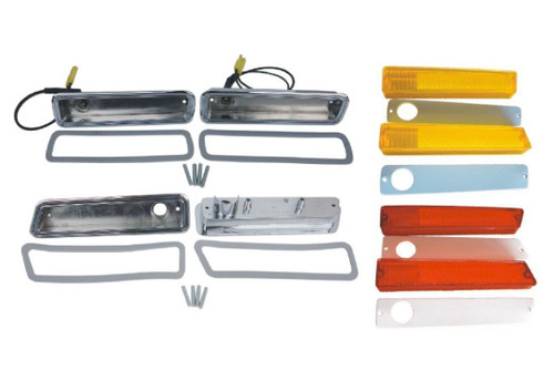 3215-BLKIT Mopar 1970-71 Dodge Dart Side Marker Kit