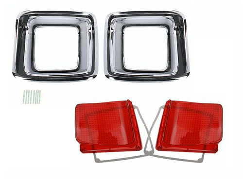 165-GTXKIT Mopar 1969 Plymouth GTX Taillight Kit