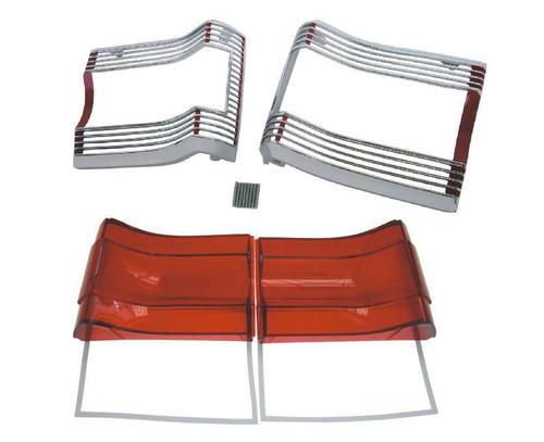 167-GTXKIT Mopar 1967 Plymouth GTX and Satellite Taillight Kit