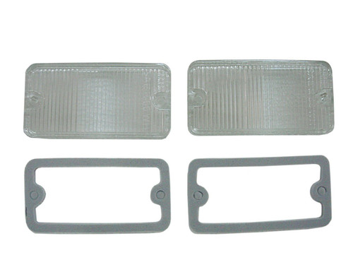 1305-66CHL Mopar 1966-67 Dodge Charger and Coronet Back-Up Light Lenses