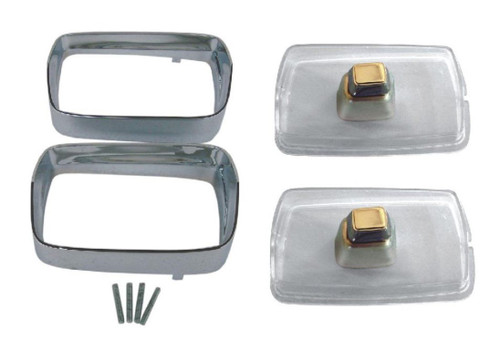 308-68SET Mopar 1968 Plymouth Barracuda Parking Light Set