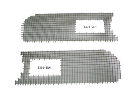 3309-SSET Mopar 1969 Plymouth Barracuda Grille Screens