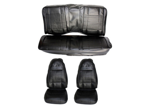 5501C-BUK 1970 Challenger Convertible Front & Rear Bucket Seat Cover Set