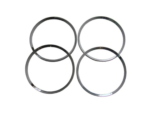 216-72B Mopar 1972-74 Plymouth Cuda Taillight Ring Trims