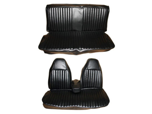 6603-BEN 1974 Dart Duster Front Split Bench Seat Cover Set