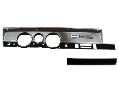 316-70KIT Mopar 1970 A-body Rallye Dash Bezel Kit (NO AC)