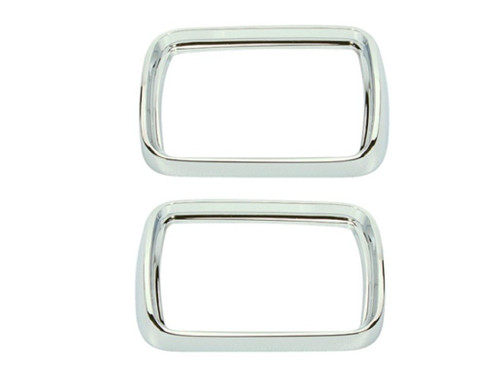 308 Mopar 1967 Plymouth Barracuda Parking Light Bezels