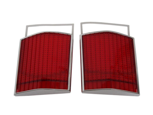 366-67L Mopar 1967 Dodge Dart Taillight Lenses