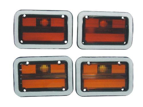 1215-71LSET Mopar 1971 Dodge Charger Side Marker Lens Set