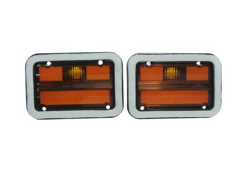 1215-71L Mopar 1971 Dodge Charger Front Side Marker Lenses