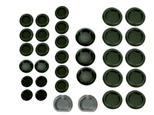 313-71BP Mopar 1971-74 B-body Universal Body Plug Kit