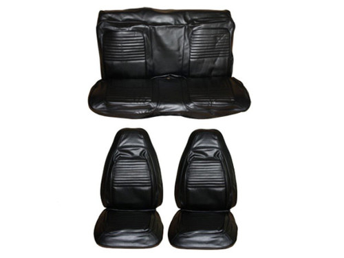 5504-BUK 1970 Cuda Barracuda Front Bucket Seat Cover Set