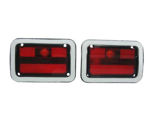 1214-71L Mopar 1971 Dodge Charger Rear Side Marker Lenses
