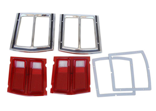 366-69BLKIT Mopar 1969 Dodge Dart Taillight Kit
