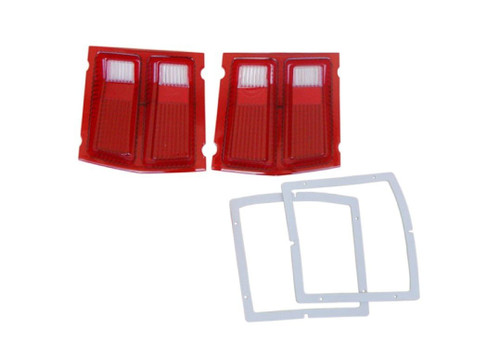 366-69L Mopar 1969 Dodge Dart Taillight Lenses