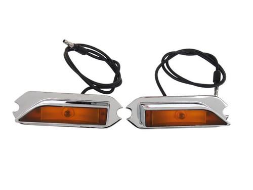 252-70RR Mopar 1970 Plymouth Roadrunner and GTX Hood-Mounted Turn Signal Indicator