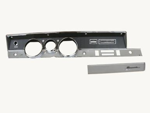 316-69KIT Mopar 1968-69 A-body Rallye Dash Bezel Kit (NO AC)